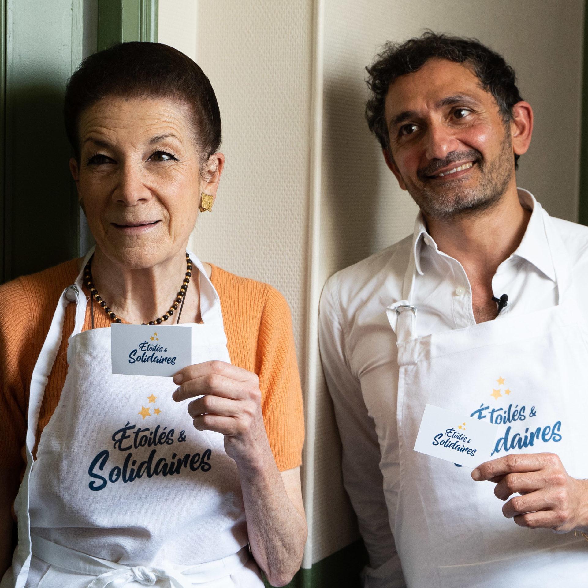 Francis Kurkdjian et Nathalie Georges